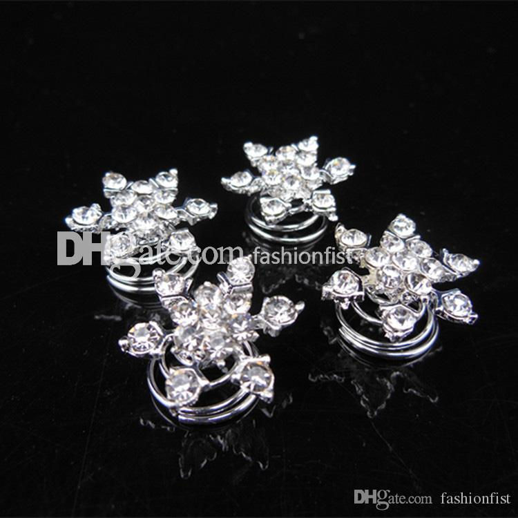Brand New Frozen direct bridal & Kids hair accessories plate snowflake diamond jubilee clip Frozen Hair Hot Sale