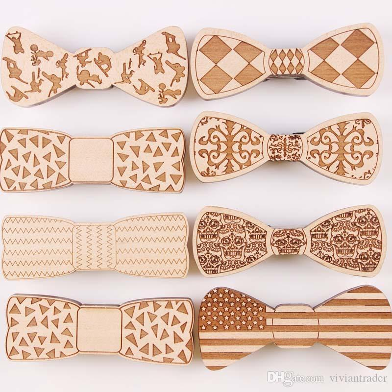 3350762e3696 The New Creative Wooden Tie Wooden Bow Tie Cheap Ties Neck Tie From  Viviantrader, $28.15| DHgate.Com