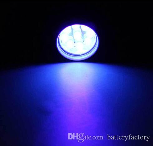 2015 новый мини AlumMinum УФ ультрафиолетовый 9 светодиодный фонарик BLACKLIGHT Факел свет лампы