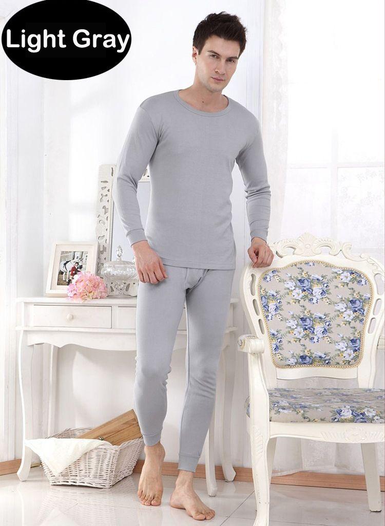 Hot Men's Thermal Underwear Suits Top Bottom Fur Fleeced Long Johns Waffle Knit Keep Warm Undershirt Leggings Run Small 10012