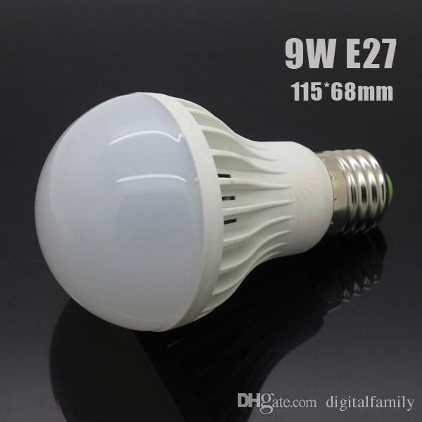 High Brightness Led bulb E27 3W 5W 7W 9W 12W 15W 220V 5730 SMD LED light Warm/Cool White LED Globe Light Energy Saving Lamp