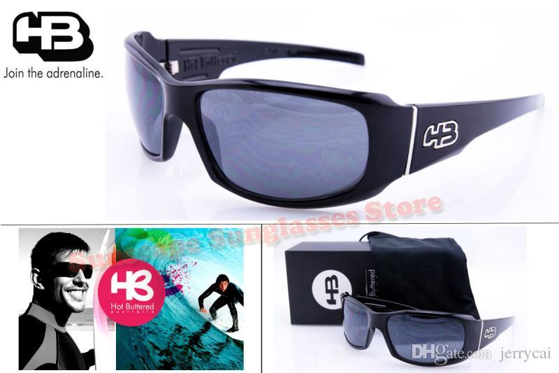 74113eaca797e 2015 Hot Sale Hb Hot Buttered G Tronic Brand Designer Oculos De Sol Mens  Sports Gafas Evoke Sunglasses With Original Box Fastrack Sunglasses Smith  ...