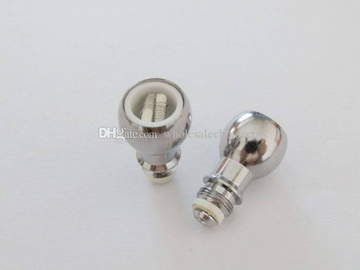 Wax Atomizer Coil Dual Ceramic Rod Wax Vaporizer Coil Wireless Coil for Glass Globe Wax Atomizer Bulb Hand Blown Glass Atomizer Coil