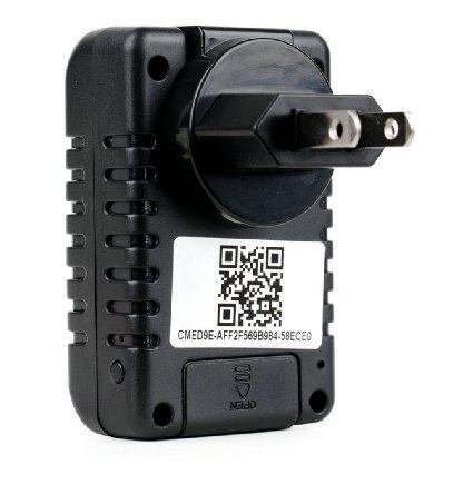 Wifi Cámara Cargador de pared Hd Audio Video Grabadora secreta Socket USB Ac Adaptador DVR Iphone Android PC Mac Monitor de Internet