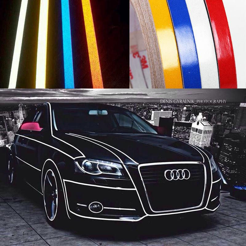 9 Meters Auto Motorcycle 3M Reflective Tape Stickers Car Styling For Car  Truck Motor Anywhere