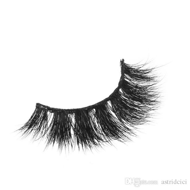 Glitering Package Luxury 3D Mink Eyelashes Natural Curl Thick Fake Eyelashes Extension ME064 Pure Handmade False eyelash REAL MINK HAIR lash