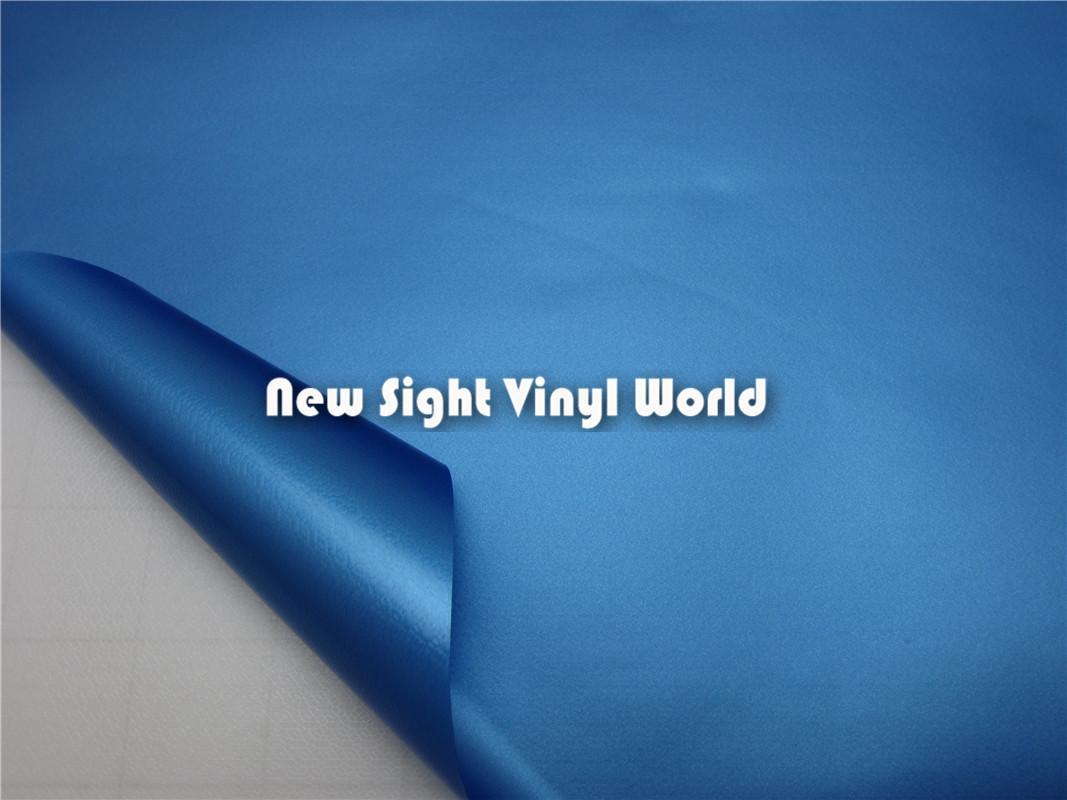 Canali dell'aria dell'involucro dell'automobile del rotolo del film del vinile della perla opaca blu di alta qualità gli autoadesivi dell'automobile Formato: 1.52 * 30m / Roll