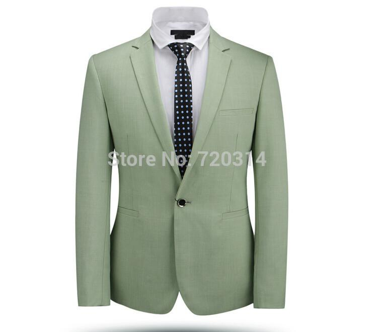Jacket Pants Tie 2015 New Arrival Fashion Suit Light Green Dynamic ...