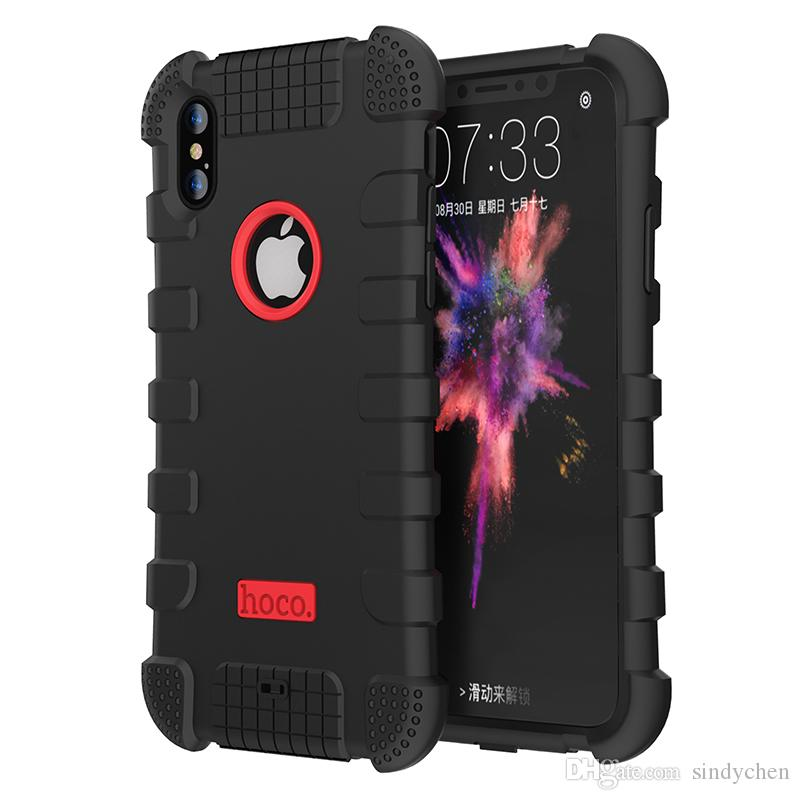 998bda2387aa Hoco High Quality Silicon Case Shockproof Back Cover Nice Colors For Iphone  X 8 7 Plus Wallet Cell Phone Case Ballistic Cell Phone Case From Sindychen