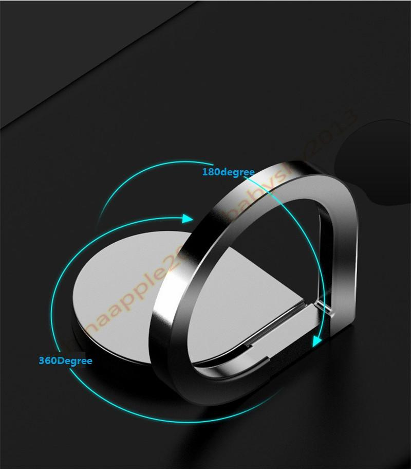 Universal Magnetic Metal Finger Ring Stand Magnet Holder 360 Rotating Mount Mobile Phone Drip Grip Universal for smartphone