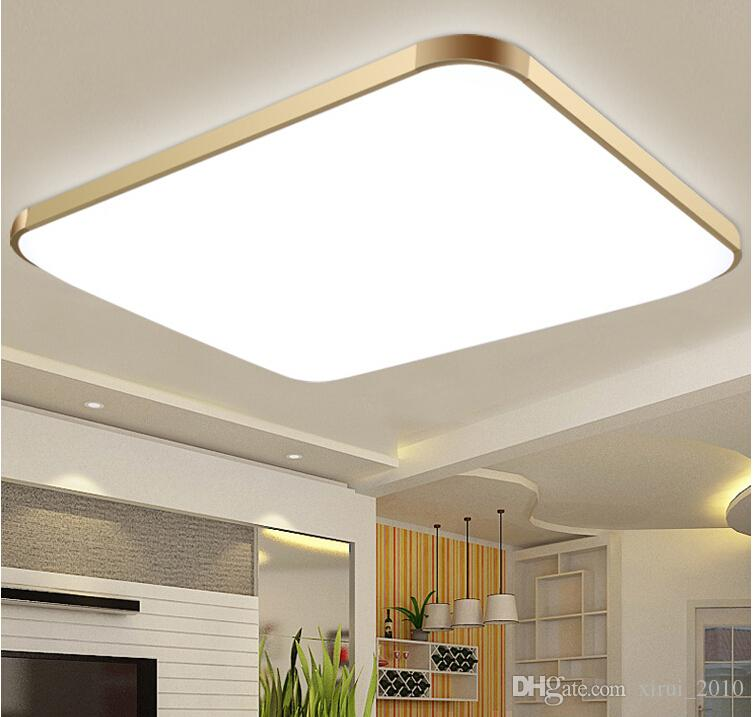 Dhl Modern Led Apple Ceiling Ligh Square W Cm Led - Square kitchen ceiling lights