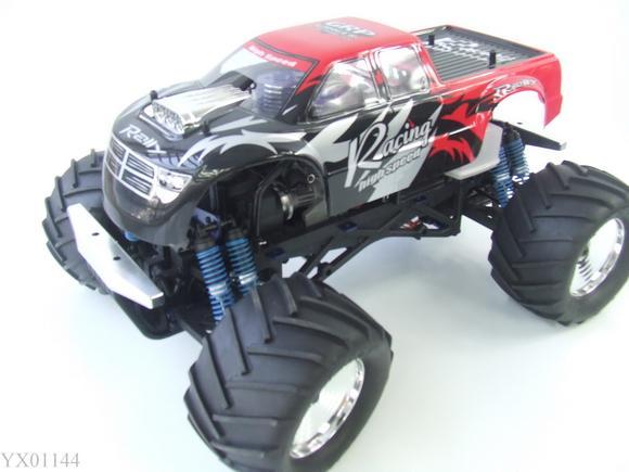 3CH 18 RC Truck Nitro Gas 28CC Engine 4WD Car 3 Speed Gearbox Monster Mega Radio Remote Control Trucks Toy