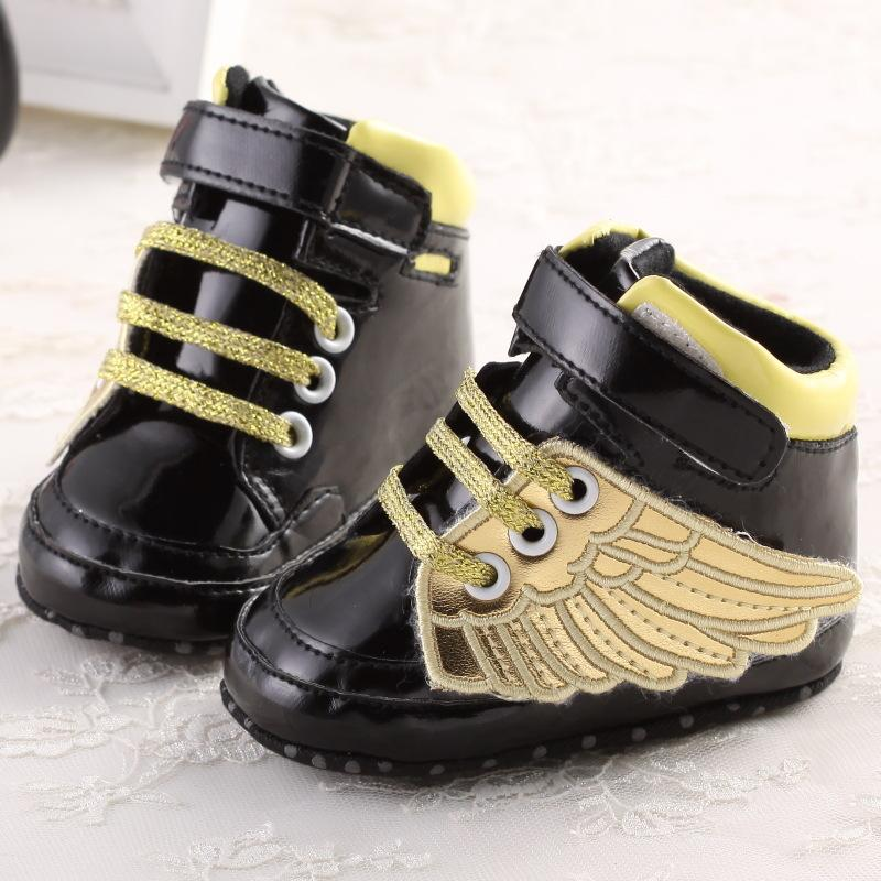 baby boys girls shoes Angel Wing /Sequins first walkers shoes 0-18Months