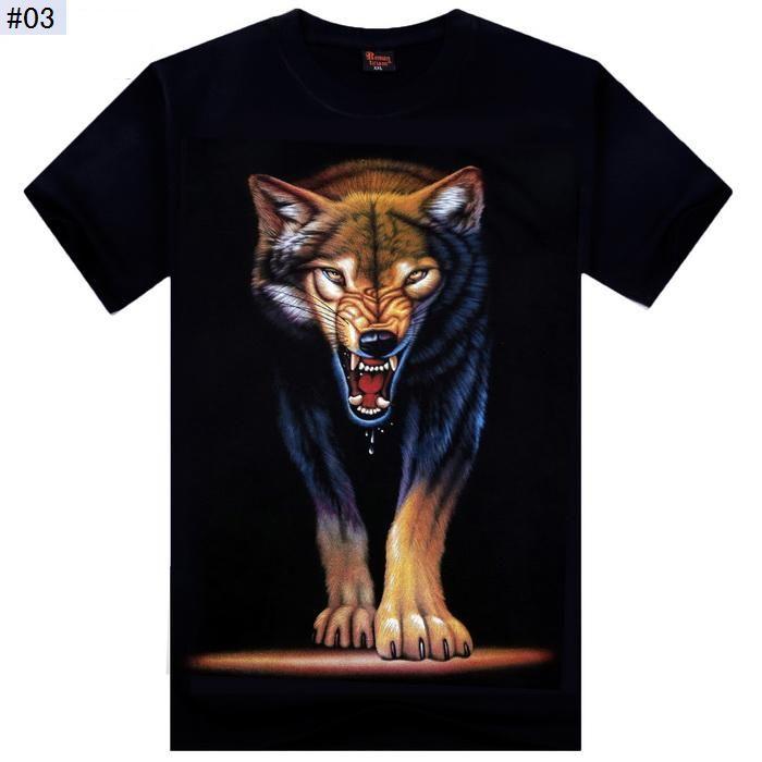 Высокое качество S-XXL новая мода хлопок бренд футболка мужчины 3D футболка одежда череп животных Казул футболки Camisetas Masculinas