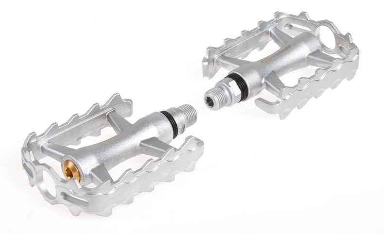 "RockBros MTB BMX Folding Bike Parts Axle 9/16"" Aluminium Body Steel Spindle Cycling Seal Cartridge Bearing Bicycle Pedal,"
