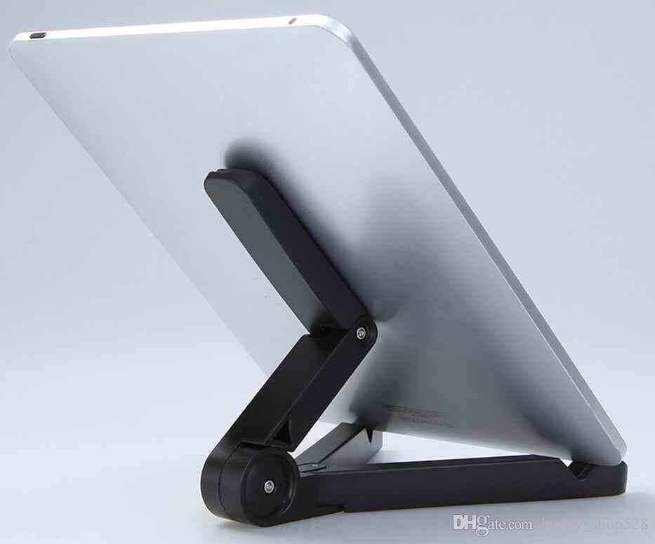"Ipad stand Portable Adjustable Fold-up Stand Holder for iPad mini air Samsung Galaxy Tab 7"" 8"" 9"" 9.7"" 10"" Tablets kinder Tablet PC Stand"