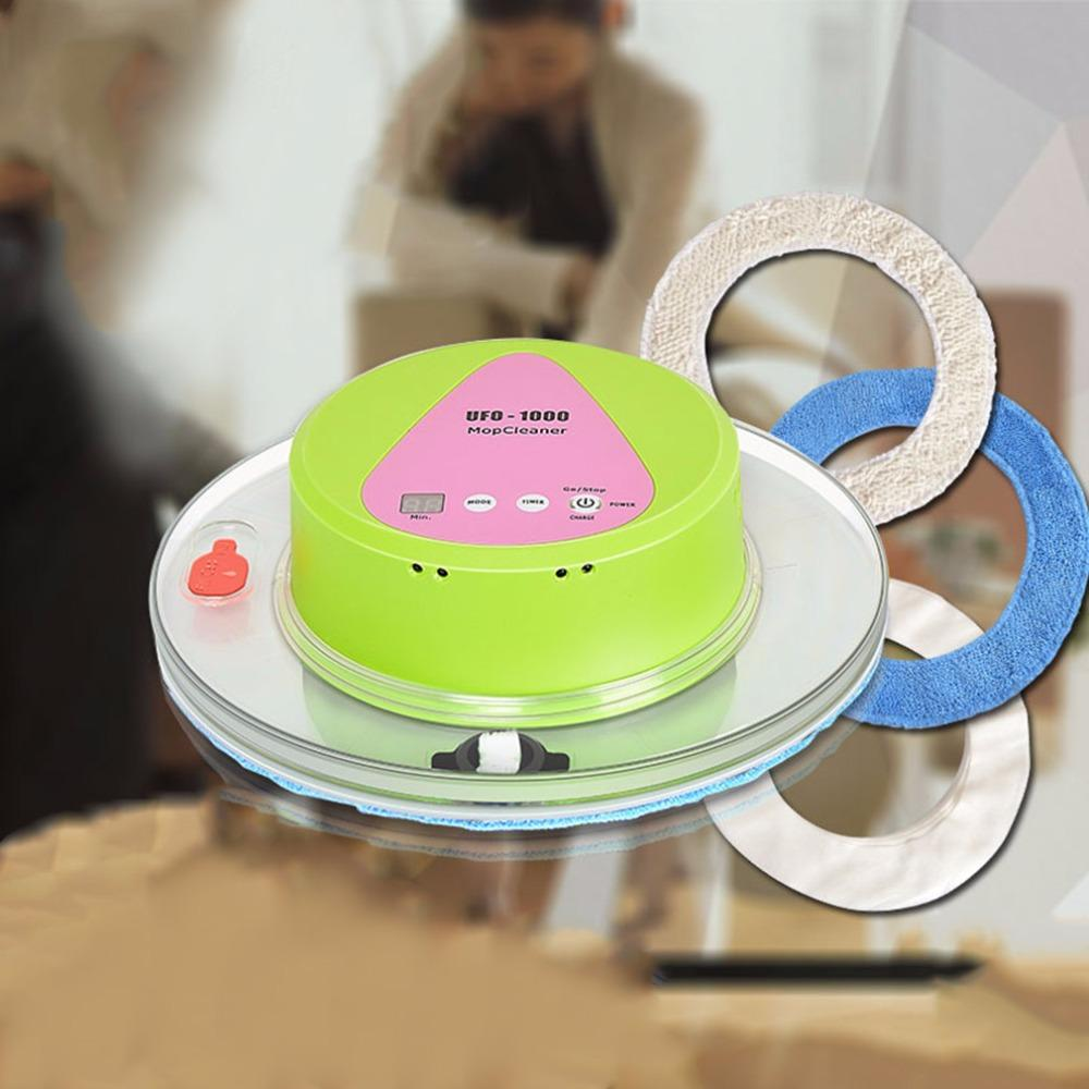 New Home Robot Vac Mop Ufo Shaped Intelligent Auto Robotic Vacuum
