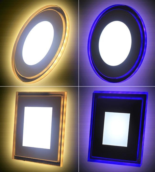 10W 15W 18W Acrylic LED Recessed Down light Panel light Ceiling Wall Light  AC85-265V Cool White Warm White For Home Decor Light Spotlight