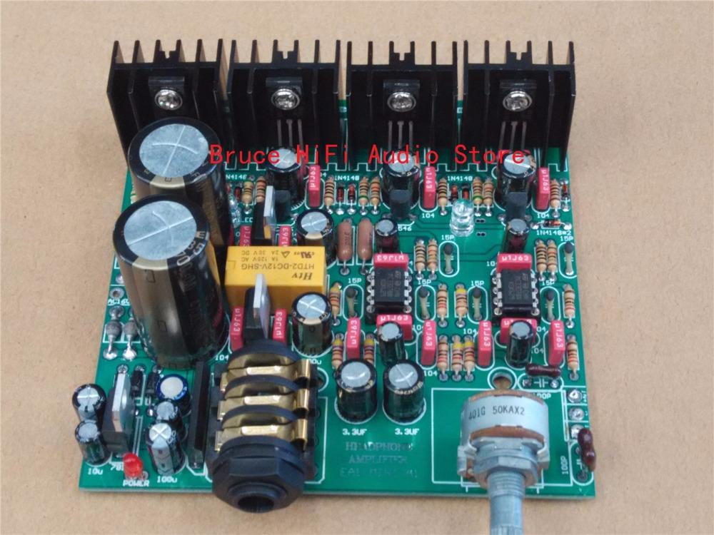 EA1 HIFI Headphone Amplifier DIY KIT Ref Beyerdynamic A1 With ...