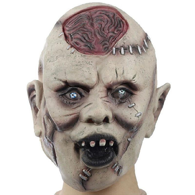 Halloween Realistic Scary Latex Mask Full Face Horror
