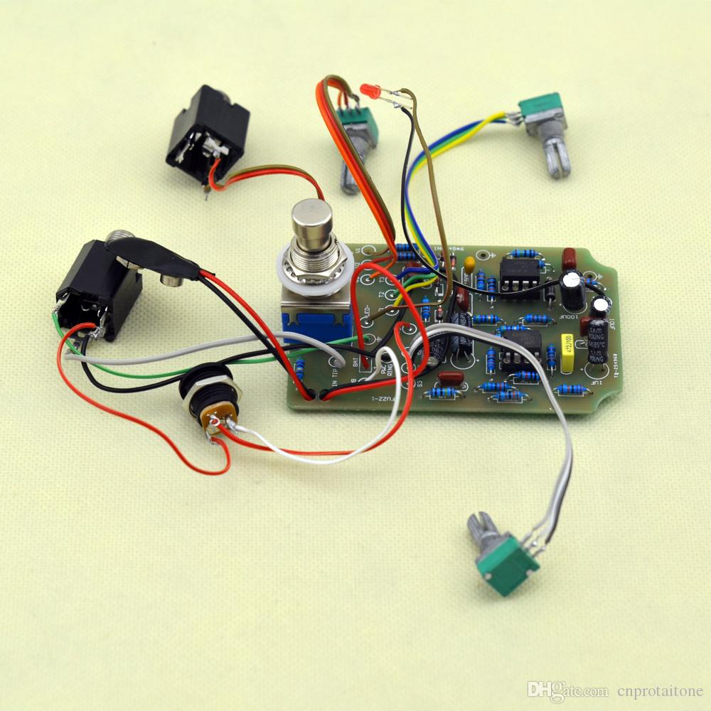 ttone DIY Fuzz Distortion pedale Guitarra elettrica, effetti pedale chitarra Strumenti musicali + SPEDIZIONE GRATUITA