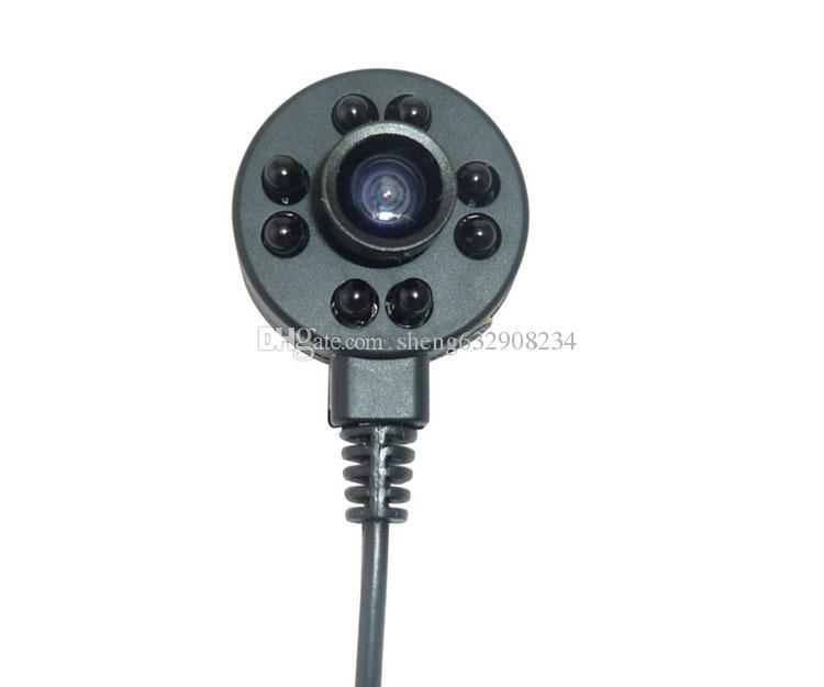 170 درجة زاوية واسعة 600TVL مصغرة زاوية واسعة للرؤية الليلية كاميرات المراقبة 940 ضوء أسود كاميرا مصغرة خالية HD / CCTV كاميرا