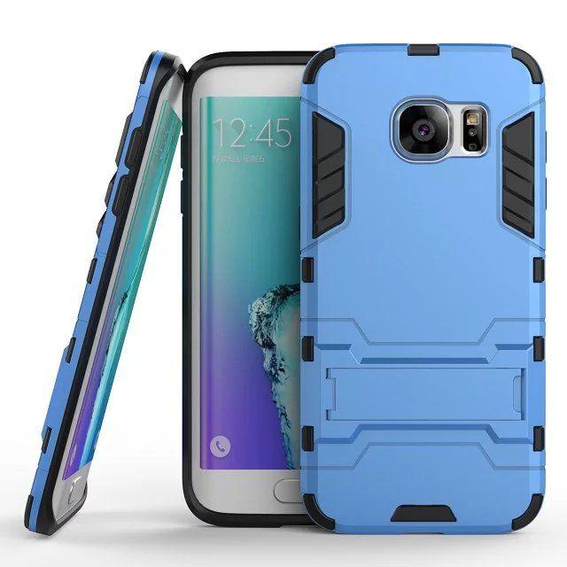 Robô capa para iphone 5 6 7 8 plus x samsung galaxy s7 edge s9 além de case 2 em 1 híbrido armadura heavy duty kickstand rígido de volta caso de telefone celular