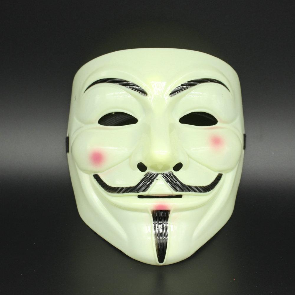 V Mask Halloween Mask Masquerade Masks For Vendetta Anonymous ...