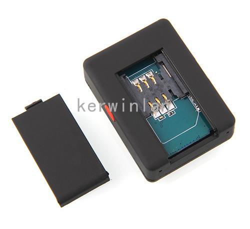 Mini A8 GPS Personal TRACKER Quad-Band GSM GPRS Monitor audio con controllo del suono Dialing SOS tramite Smartphone bambini auto animali