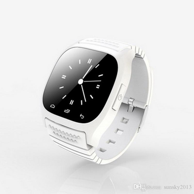 Smart Watch M26 Bluetooth Waterproof Smartwatch LED Display Sports Wrist Watches Pedometer Snyc iOS Android Smartphone iPhone Samsung HTC LG