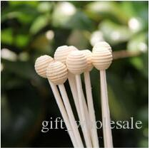 Wholesale-Chrysanthemum Flower Rattan Ball With Rope For Frangrance Diffuser Simulation of plant for reed diffuser Air freshener