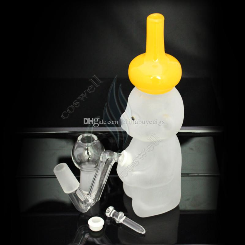 Pretty Panda glass bong bongs water pipes oil rigs rig grinder tobacco pipe bubbler ash catcher windproof lighters dab hookah