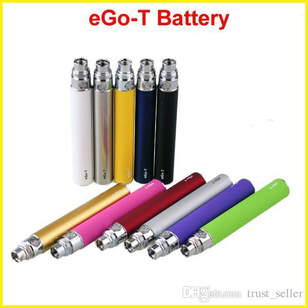 EGO-T ego t E Cigarette 650/900 / 1100mAh Batteria ce4 ce5 ce6 mini protank 2 3 mt3 atomizzatore clearomizer colorato in stock