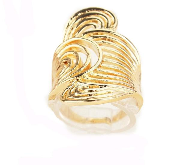 Size 10.0 The Ring Jewelry For Fashion Women/Men Party Gift /Wedding Jewelry New Style 18k Gold Plated Rings