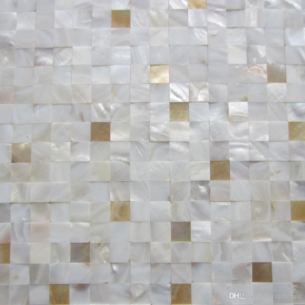 Best New! Yellow Lip 7% Mixed Mother Of Pearl Tiles;Backsplash ...