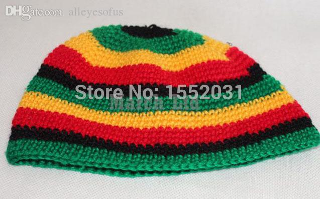 Wholesale Jamaican Rasta Hat Bob Marley Hat Jameican Hat Tams Fancy
