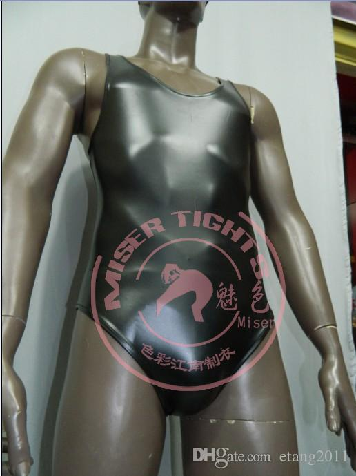 2016 hot bdsm Latex sleeveless Sexy Catsuit Costumes Lingerie Suits Club Wear For men bdsm sex toys