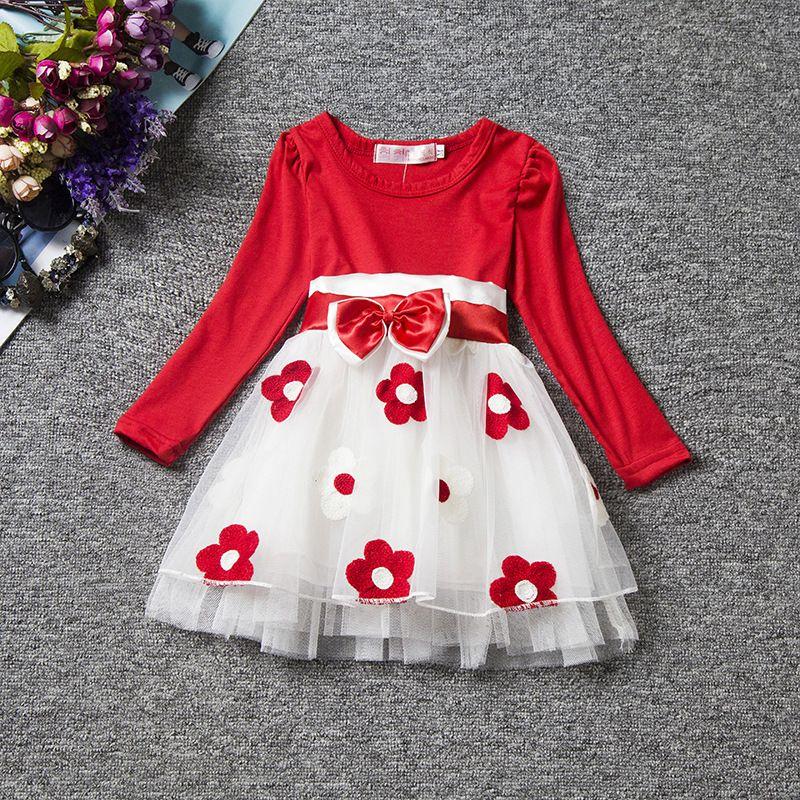 60ff27febca3 2018 Wholesale Baby Girl Baptism Dress Toddler Girls Christening ...