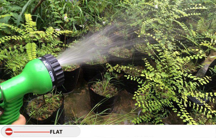 lexible Expandable Water Hose Pipe Garden Car Wash Jet Spray Gun Nozzle Head