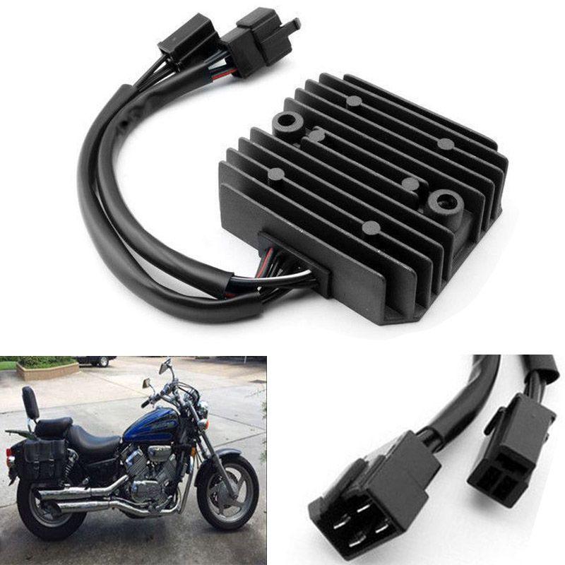 New Hot Motorcycle Voltage 12V Regulator Rectifier for Honda NV400 NV600 Steed 600 VT600 for Motorbike Ingition