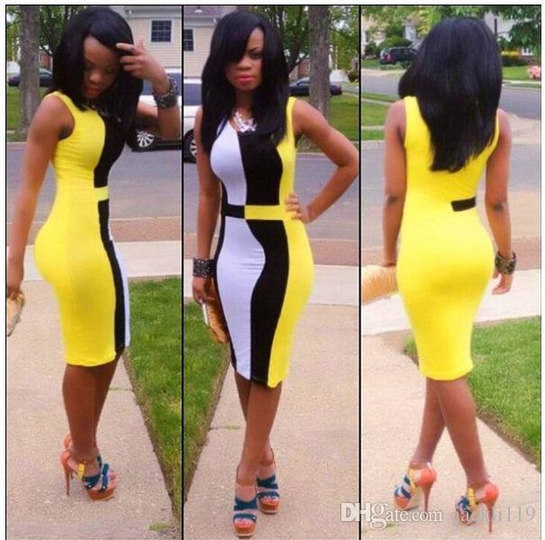 Novos vestidos bodycon para mulheres moda vestidos casuais bandage dress macacões para as mulheres roupas midi dress mk02
