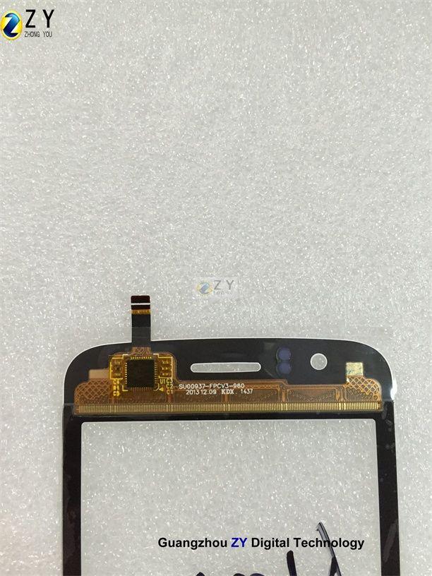 Digitador da tela de toque do telefone do fogo de Explay / TOQUE DE ZY
