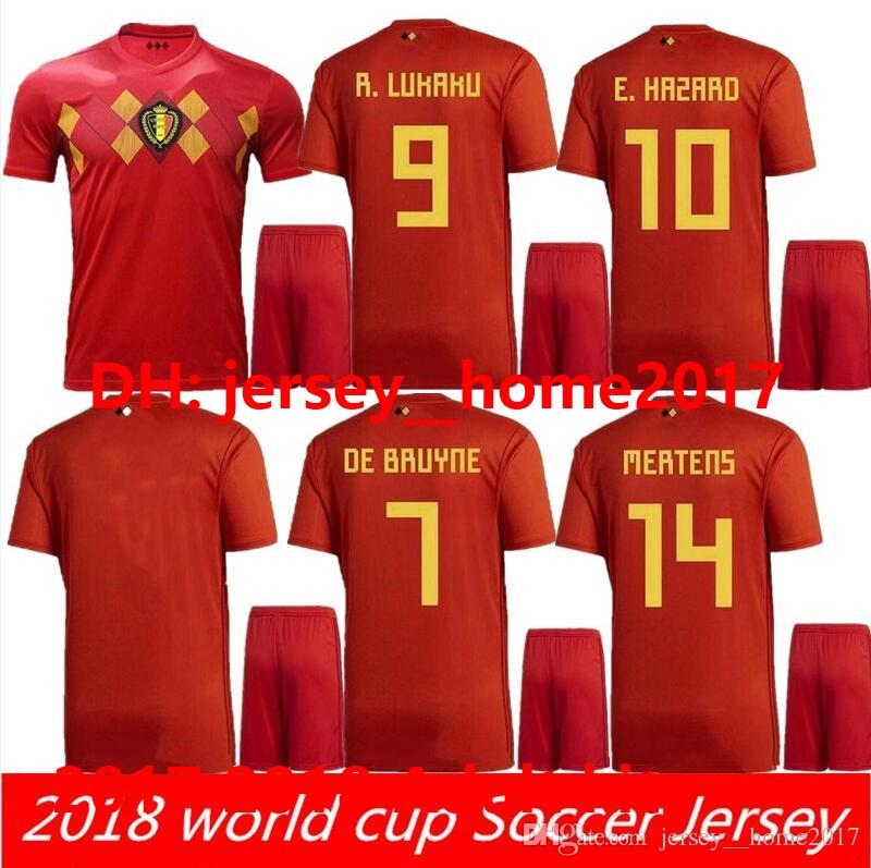 9f34173b9fd ... order 2018 world cup belgium soccer sets lukaku fellaini e.hazard  courtois de bruyne batshuayi