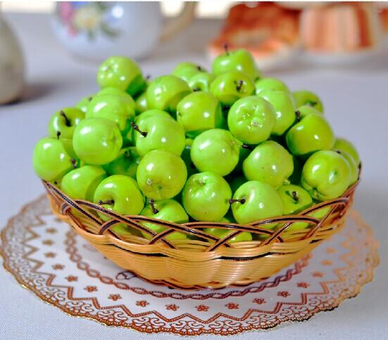 Artificial fruit green apple simulation mini apple plastic apple artificial fruit green apple simulation mini apple plastic apple home wedding party decoration home wedding decoration supply junglespirit