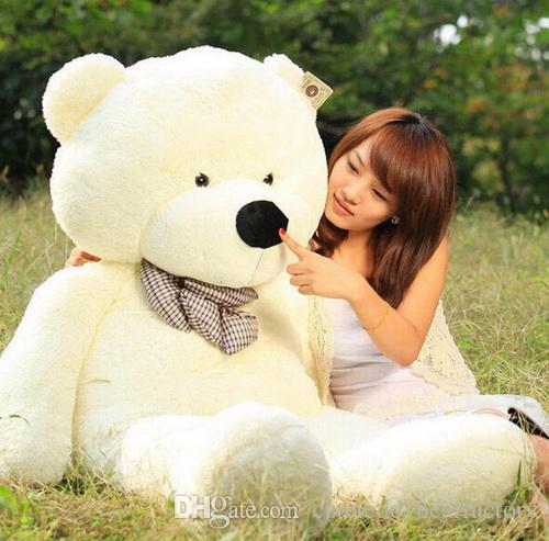 2019 hot 160cm life size teddy bears doll plush toys large giant big teddy bear for sale. Black Bedroom Furniture Sets. Home Design Ideas