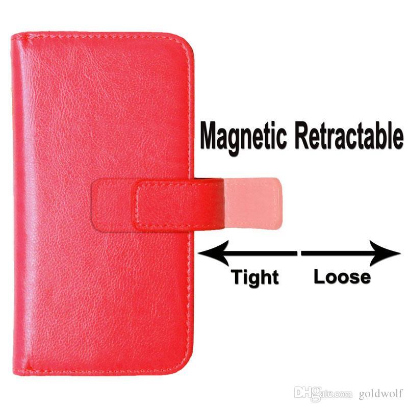 Funda de cuero de la billetera del soporte del soporte con el marco de fotos para el iPhone 12 Pro x 8 7 6 6s más la cubierta del teléfono retro vintage