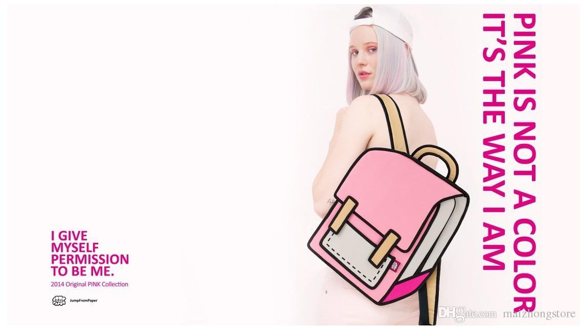 2015 neue heiße verkauf 3d comic cartoon taschen 3d rucksack kamera taschen 3d gismo cartoon taschen 3d schultaschen für versand