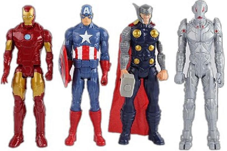Kids Toys Action Figure: Online Cheap Newest 12 30cm New The Avengers Toys Figures
