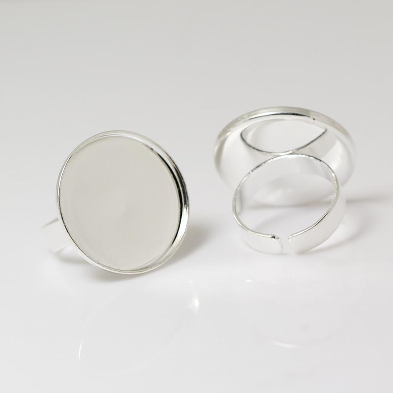 Beadsnice ID 24102 anello di base vuoti moda ottone lunetta impostazione anello monili che fanno spedizione gratuita