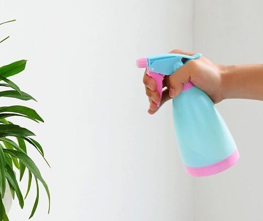 손 압력 분무기 손 압력은 작은 냄비에 물을 스프레이 병 스프레이